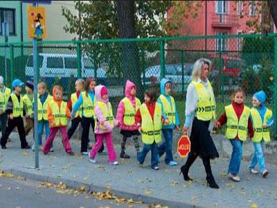 testy brd ruch pieszych